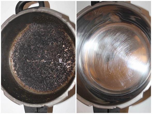 Как очистить алюминиевую кастрюлю от черноты и прочих загрязнений