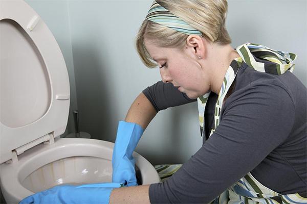 17 средств от ржавчины в унитазе: как удалить ржавчину с унитаза