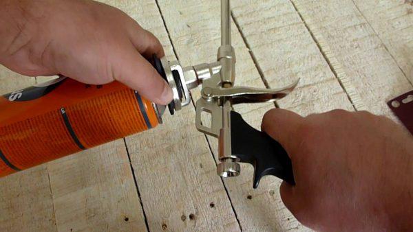 Как почистить пистолет для пены, очиститель для пистолета для монтажной пены