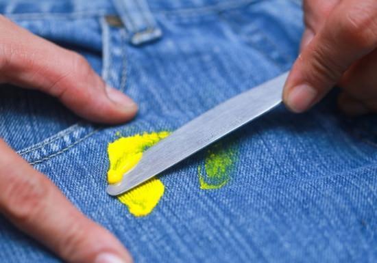 Как отстирать краску с одежды, как очистить одежду от краски в домашних условиях