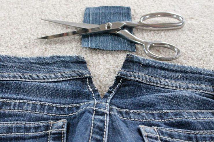 Как растянуть новые джинсы: в длину, в ширину, в поясе, бедрах, икрах